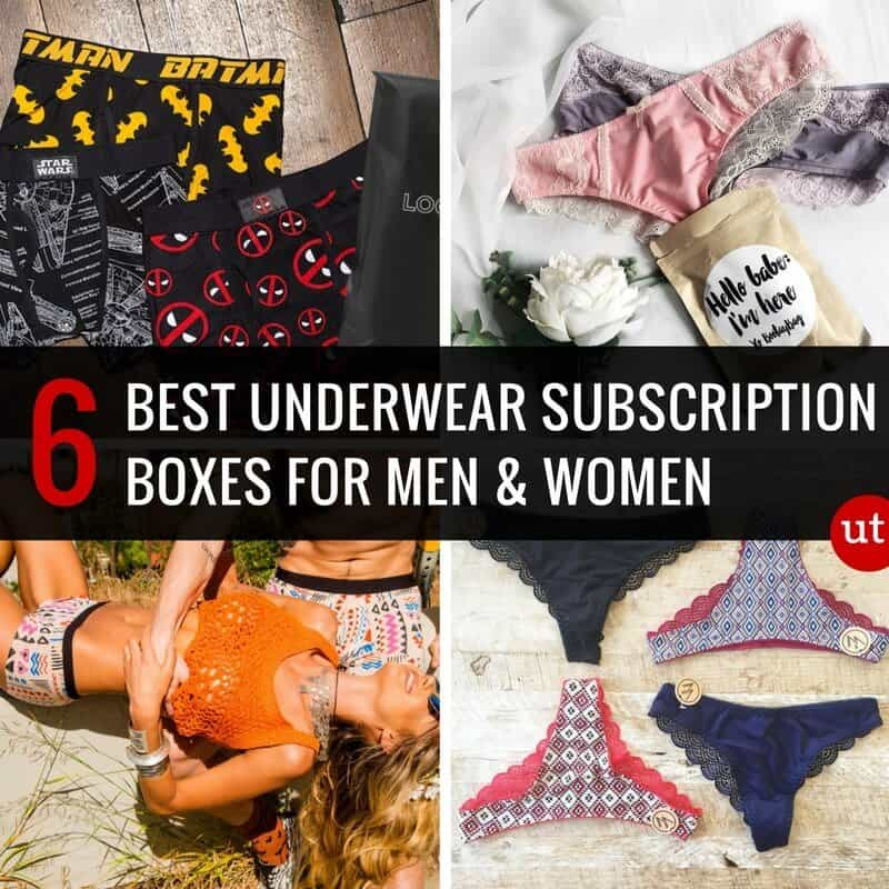 Best Underwear Subscription Boxes for Men and Women