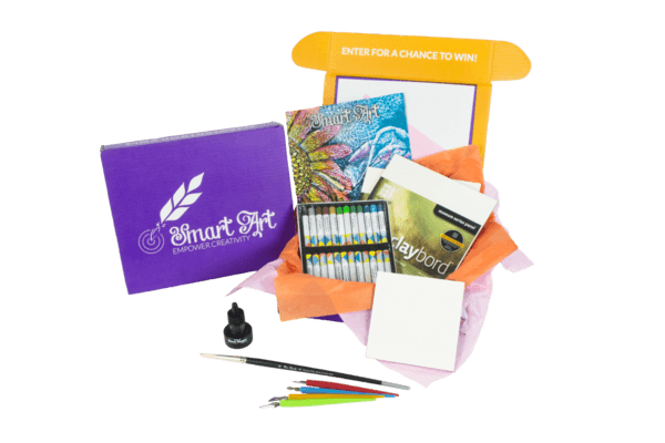 Smart Art Monthly Art Box